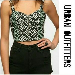 Urban Outfitters Staring at Stars Crop Top
